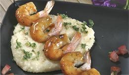 shrimp with orange barbecue
